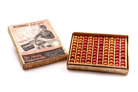 Calculadora educativa TOPOS Rechenbaukasten Abacus