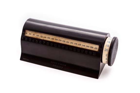 Calculadora cilindro multiplicación PRAMY multi y divis