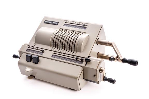 Calculadora mecánica ORIGINAL ODHNER MOD. 239