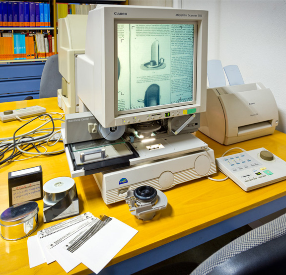 Canon MS 350 Microfilm Scanner