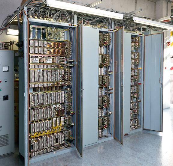 Central telefónica Pentaconta PC-32