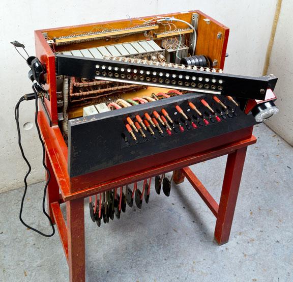 Central telefónica Standard Eléctrica Modelo 5581