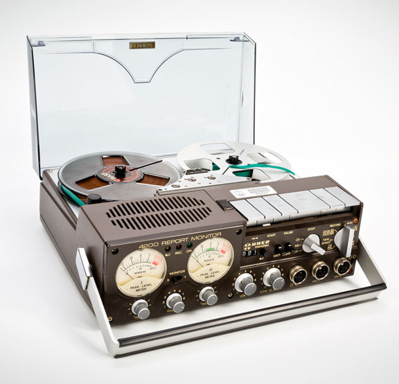 Magnetófono de bobina abierta Uher 4200