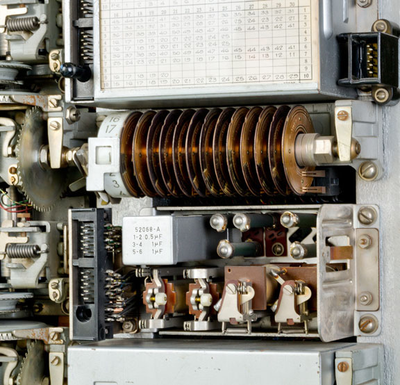 Central telefónica Rotary 7A-2