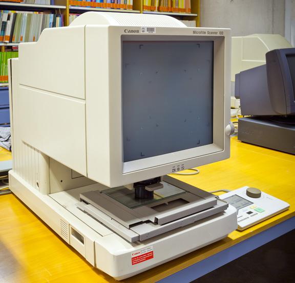 Canon MS 100 Microfilm Scanner