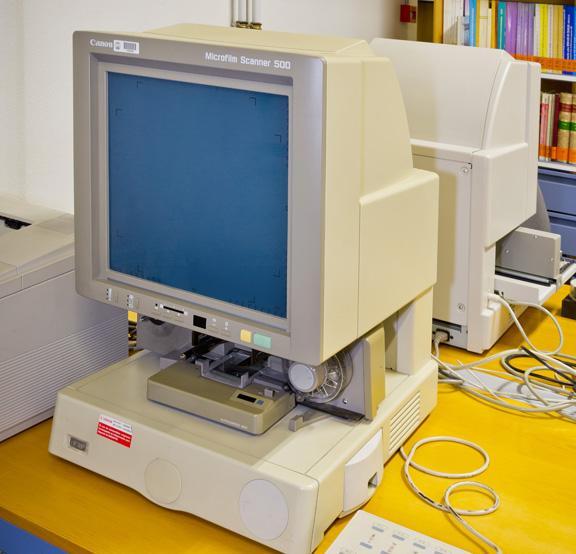 Canon MS 500 Microfilm Scanner