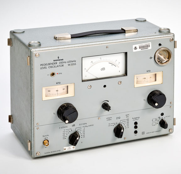 Siemens W2055 frekuentzia sorgailua